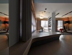 非常规的个性化开放空间:台湾桃园126平米公寓设