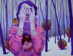 Etam Cru超现实风格插画作品