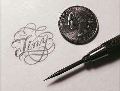 Christopher Craig漂亮的手写花体字设计
