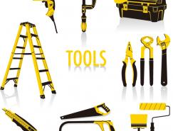各种五金工具矢量素材