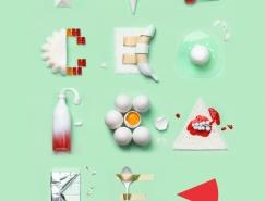 Piece of Cake創意字體海報設計