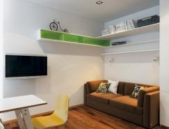 巧妙的空间利用:4个国外小公寓设计