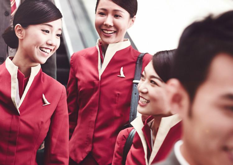 【重庆二手床】国泰航空更换新标识