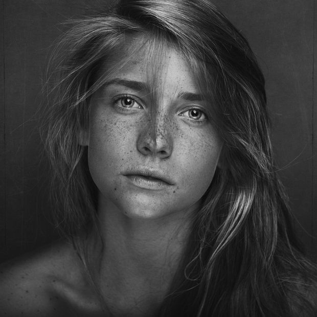 brian ingram女性肖像摄影作品