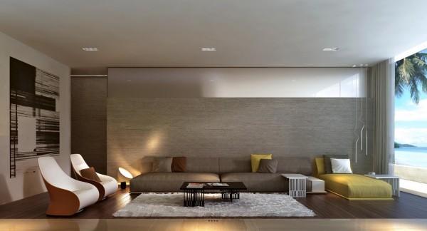 26个国外现代客厅设计