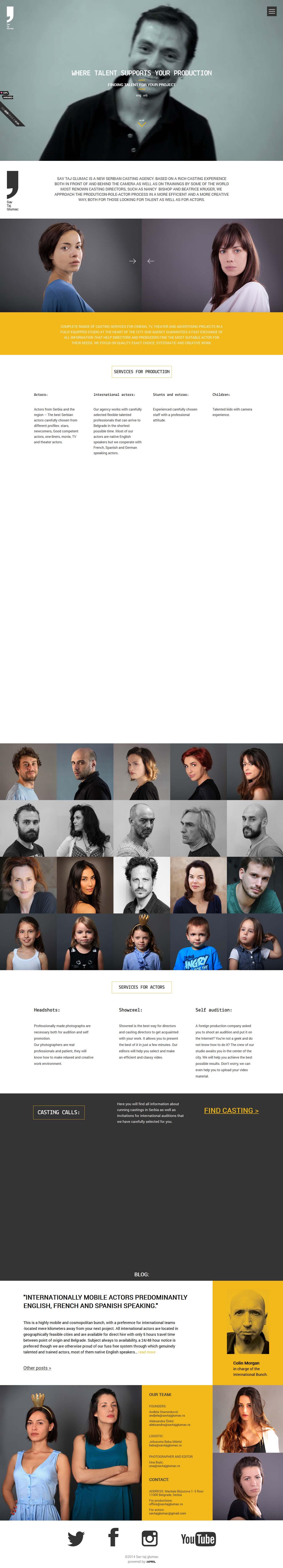 20个创意单页面网站设计