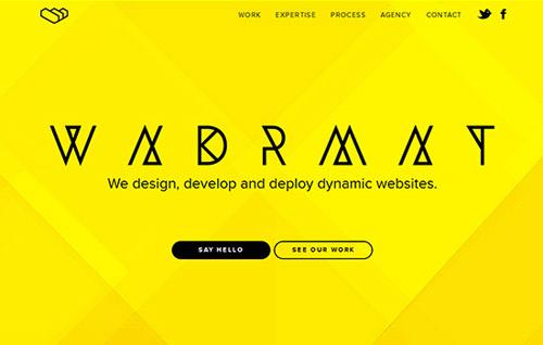 40个国外漂亮的单页面网站设计