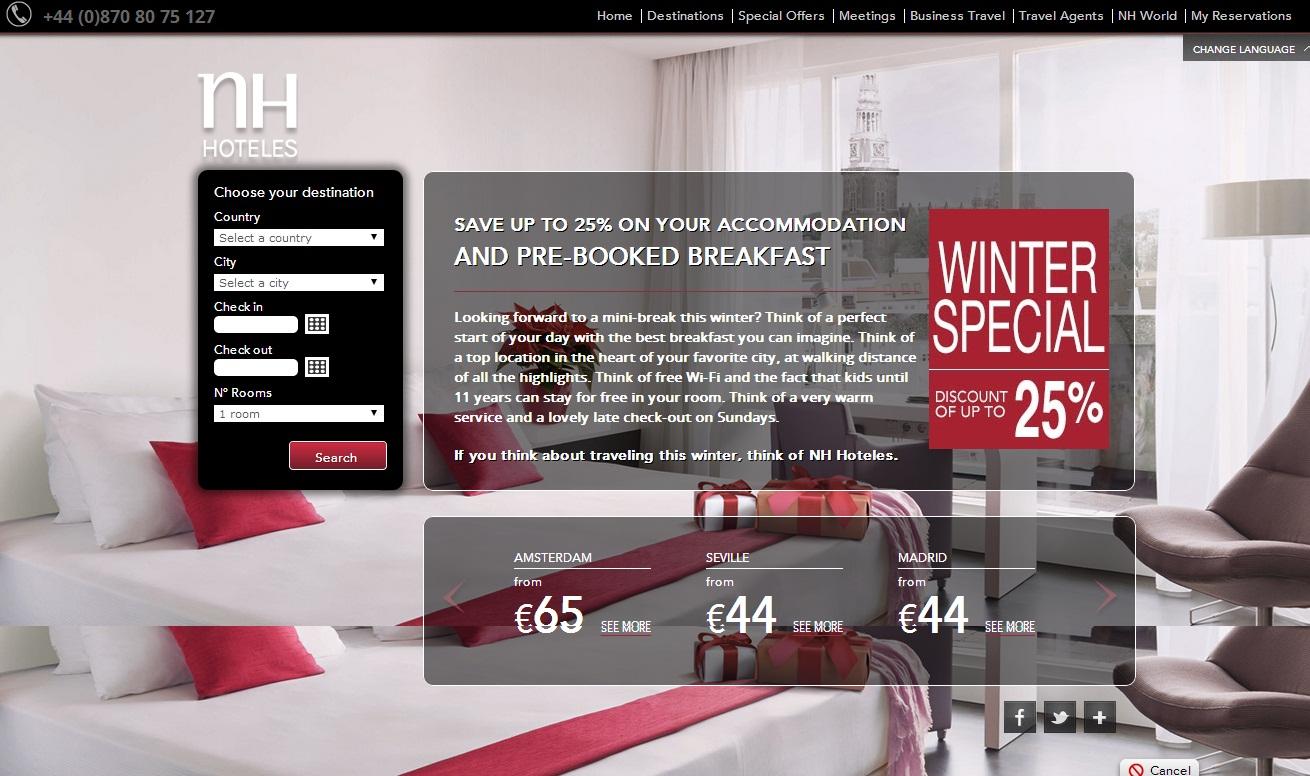 25个国外度假酒店网站设计欣赏