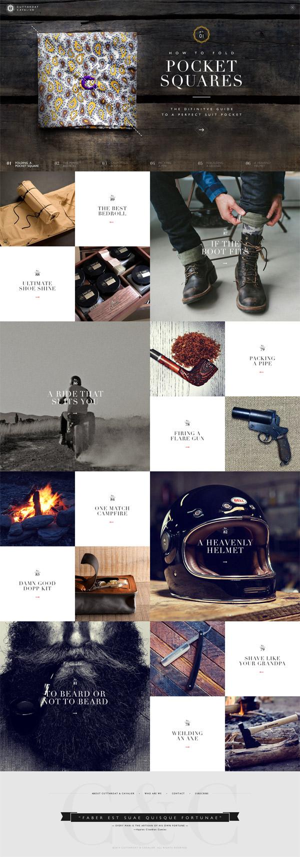 20个全页图片的概念网页设计