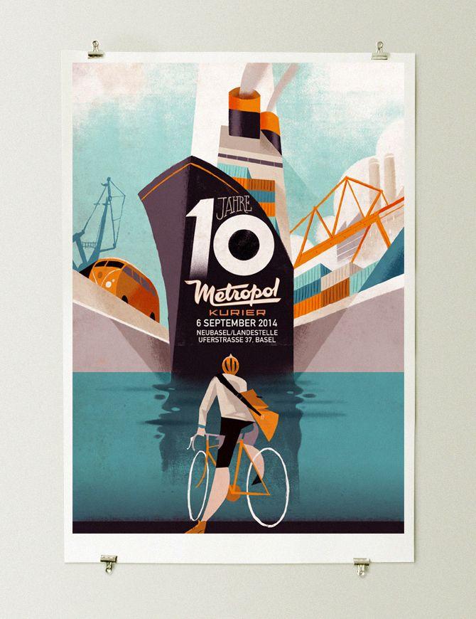 国外优秀海报设计作品集(6)建筑设计国际合公司五图片