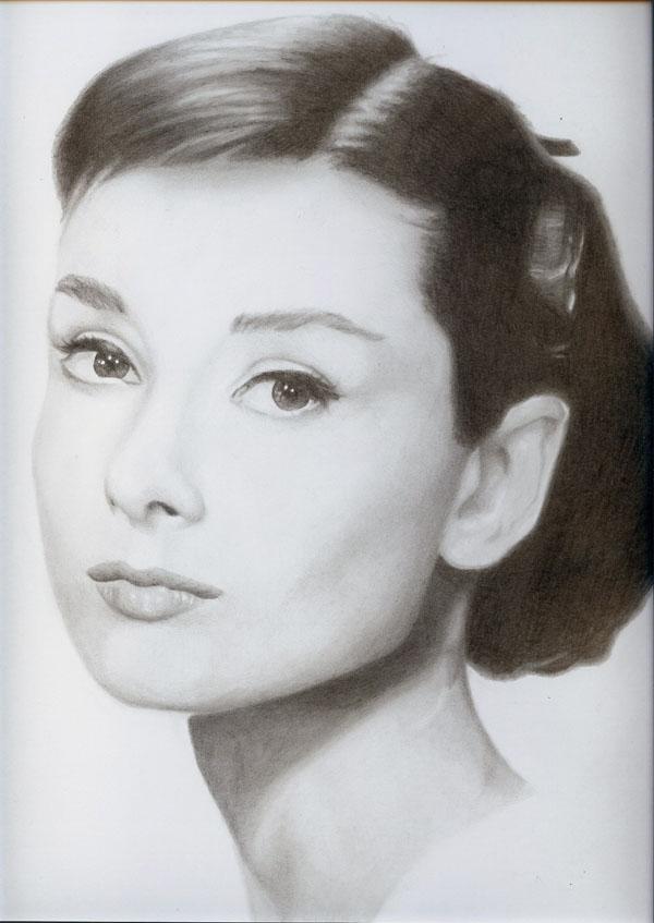 mckenzie明星铅笔肖像画欣赏