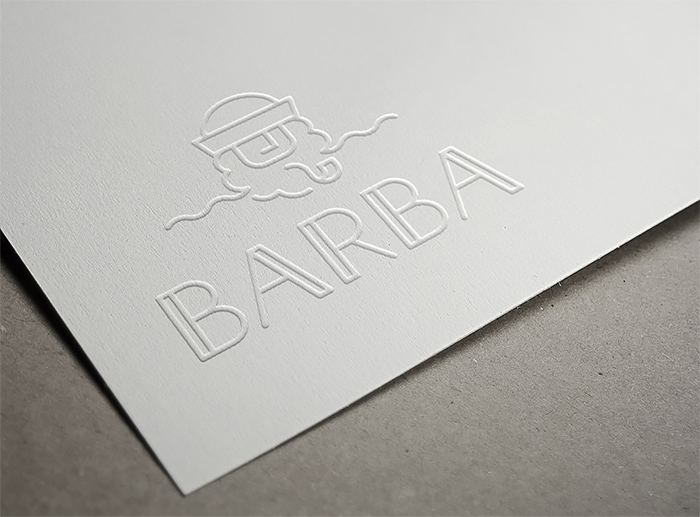 BARBA餐馆品牌形象设计