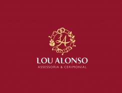 婚礼策划Lou Alonso视觉形象设计