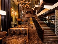 哈薩克斯坦Mojo咖啡屋空間設計