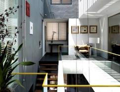 充满艺术气息的景观和绿化:现代办公空间设计