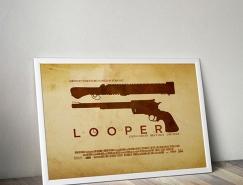 30个极简风格电影海报设计