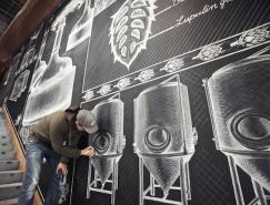 Ben Johnston超强的粉笔墙绘作品