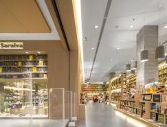 享受悠闲的阅读时光:里约热内卢Saraiva书店空间设