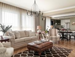 109平米美式风格三居室装修