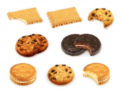 各種餅幹矢量素材