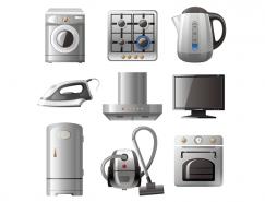 家用電器矢量素材(1)