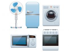 家用電器矢量素材(4)