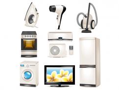 家用電器矢量素材(3)