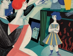 Gosia Herba女性杂志插画设计