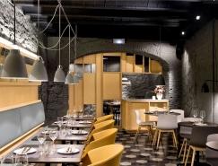 溫馨別致的巴塞羅那Saboc餐廳設計