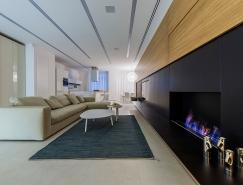 基辅简约优雅的200平现代公寓