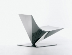 夢幻雕塑般的Lofty單椅設計