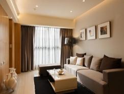 台湾59平简约风格公寓设计