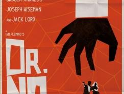 007复古插画风格海报设计
