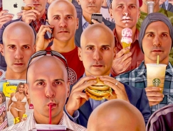 美国艺术家Alex Gross超现实风格绘画作品