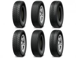 汽车轮胎矢量素材(2)