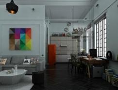 3个70平米小户型公寓皇冠新2网