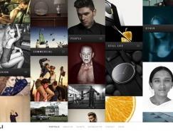 30个创意导航设计的网页欣赏