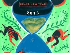 Bruno Reis Santos创意插画海报设计