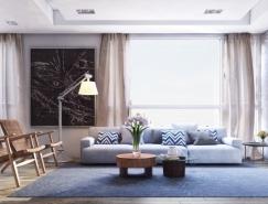4个舒适简约的现代公寓澳门金沙网址