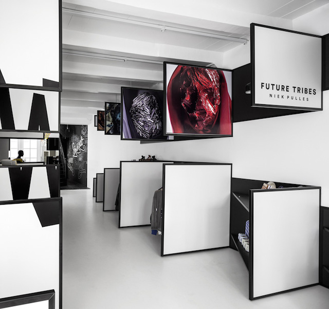阿姆斯特丹frame创意3D体验时装店