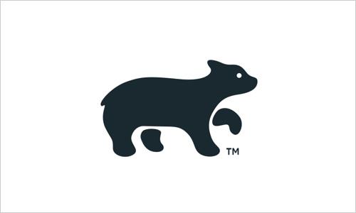 burnell创意动物logo欣赏(2)
