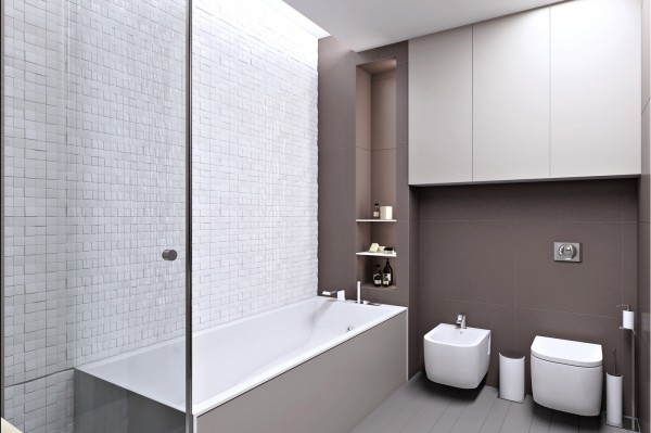 圣彼得堡精致简约的108平米公寓设计