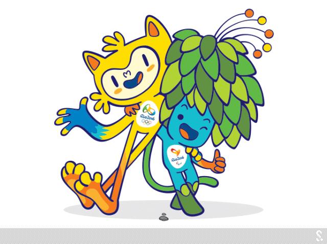 """主色调为黄色的里约奥运吉祥物代表了巴西的动物,其中有猫的灵性,猴子的敏捷以及鸟儿的优雅。主色调为蓝色的里约残奥吉祥物的设计灵感则来自于巴西热带雨林的植物,它头顶上长满了代表巴西的绿色和黄色树叶,光合作用可以让树叶不断生长,克服各种阻碍,最终将养分撒向人间。 里约奥运会品牌主管贝特·卢拉说:""""里约奥运会和残奥会的吉祥物代表了巴西文化和巴西人的多样性,代表着巴西的快乐和处事的方式。它们两个都是拥有超能量的神奇生物,可以让年轻人自然而然地感到十分亲切。"""" 里约奥组委主席努"""