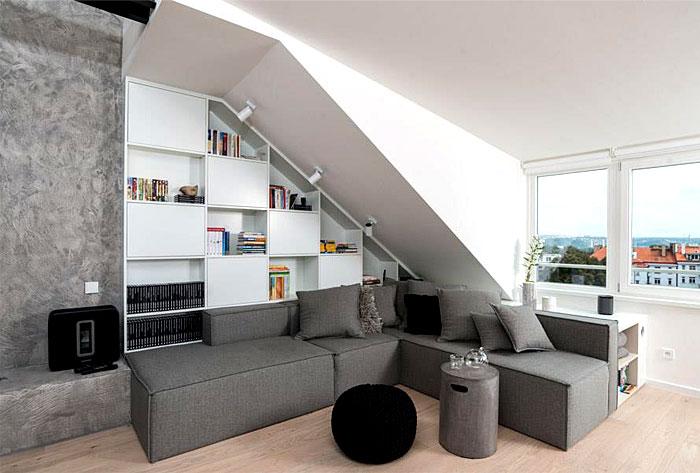 OOOOX:现代阁楼公寓设计