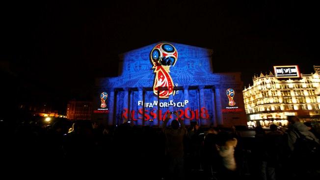 俄罗斯2018年世界杯足球赛会徽公布