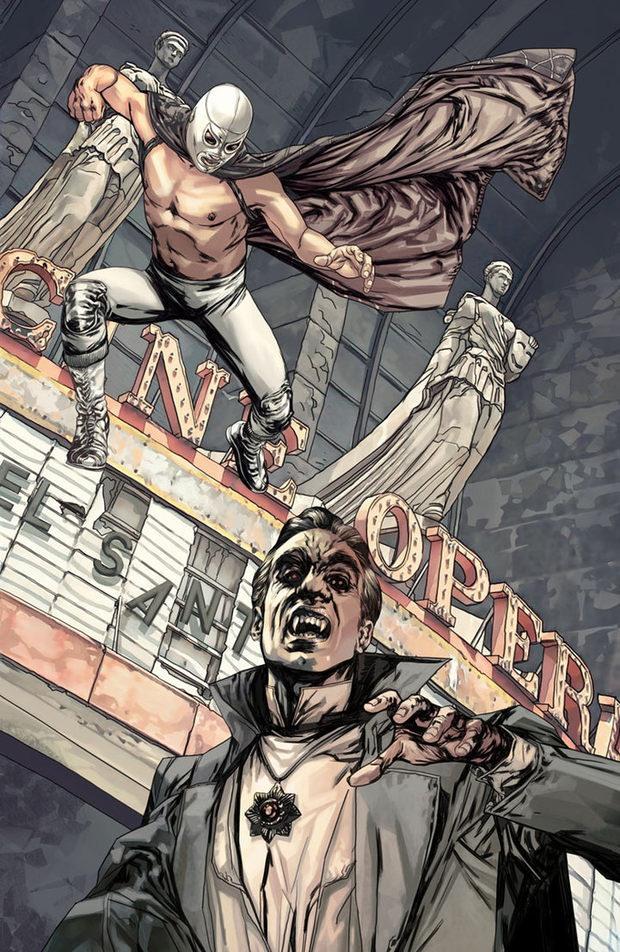 José Quintero幻想人物插画