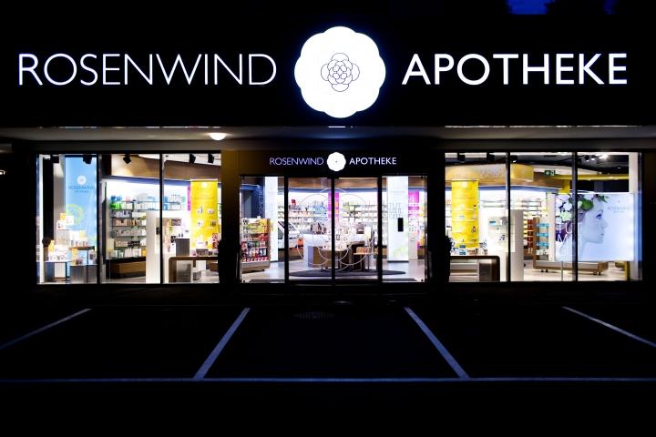 奥地利Rosenwind药店设计