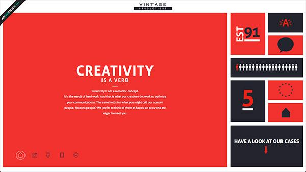 35个红色网站设计欣赏