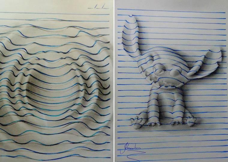 João A. Carvalho惊人的3D立体画艺术