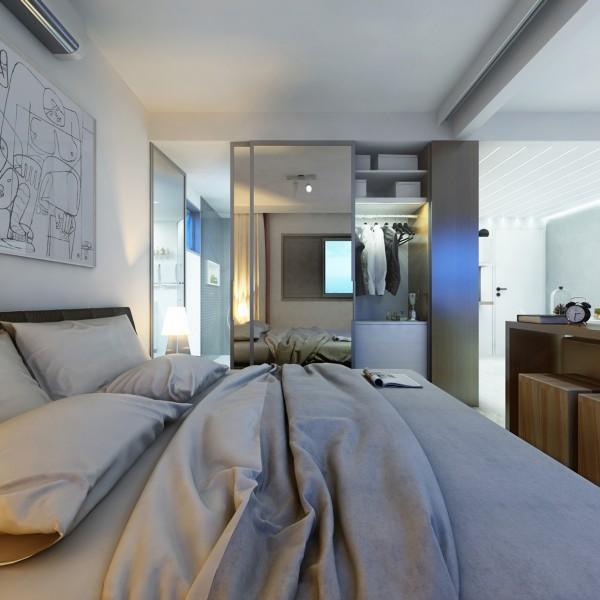 2个30平米精致小公寓设计